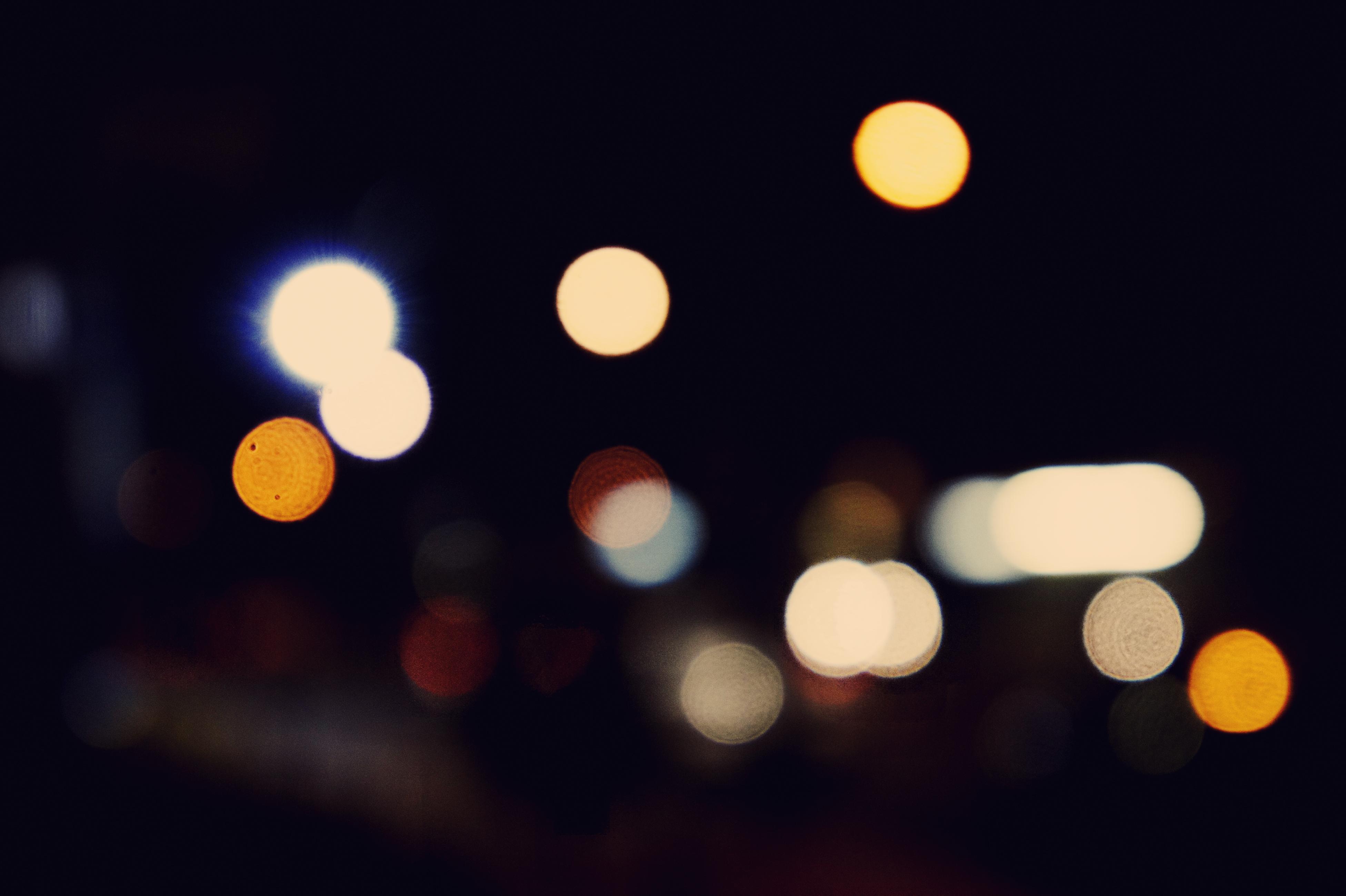 street light bokeh - photo #1