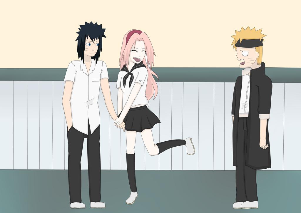Konoha Gakuen Den Anime Naruto Konoha Gakuen Den