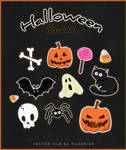 FREE  Halloween-stickers