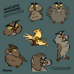 Free Anacleto - Archimedes emoticons