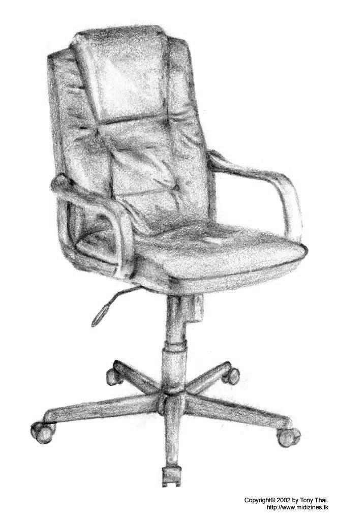 Chair Drawing By Midiman