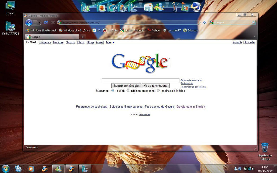 Firefox 3.6 glassed extended by kusagami88