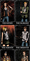 Silent Hill Protagonists by febbik