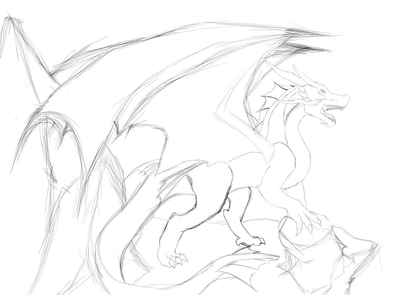 I am Dragon. ROAR!! W.I.P.