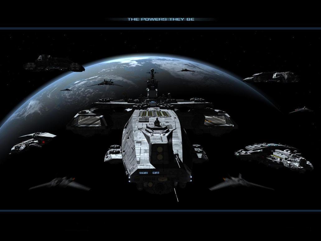 stargate vaisseaux spatiale by qwerty30