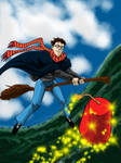 Harry Potter and the fabulous Flying Fez of Cooper