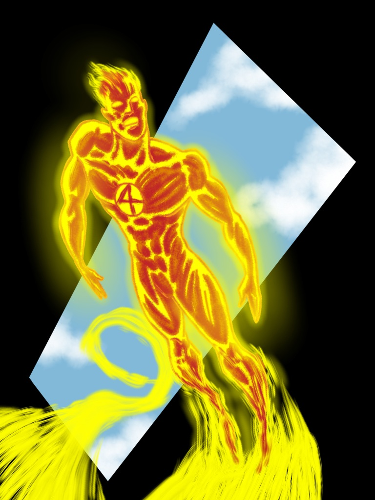 Johnny Storm the Human Torch