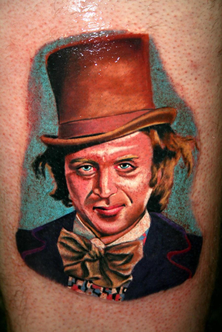 portrait tattoo by