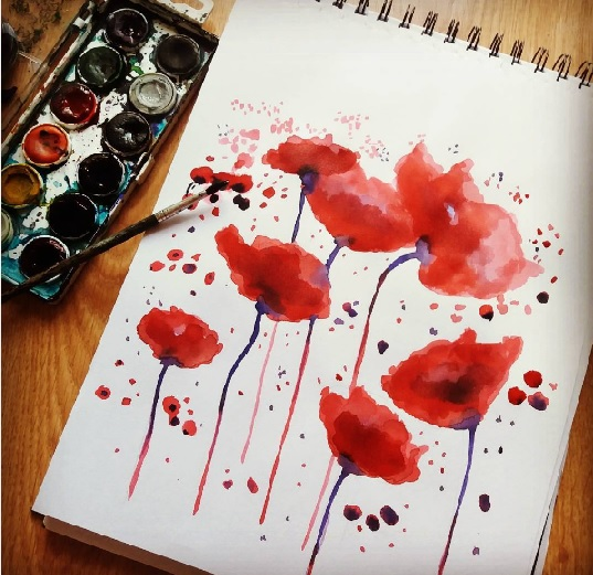 Poppies by Hellvetti