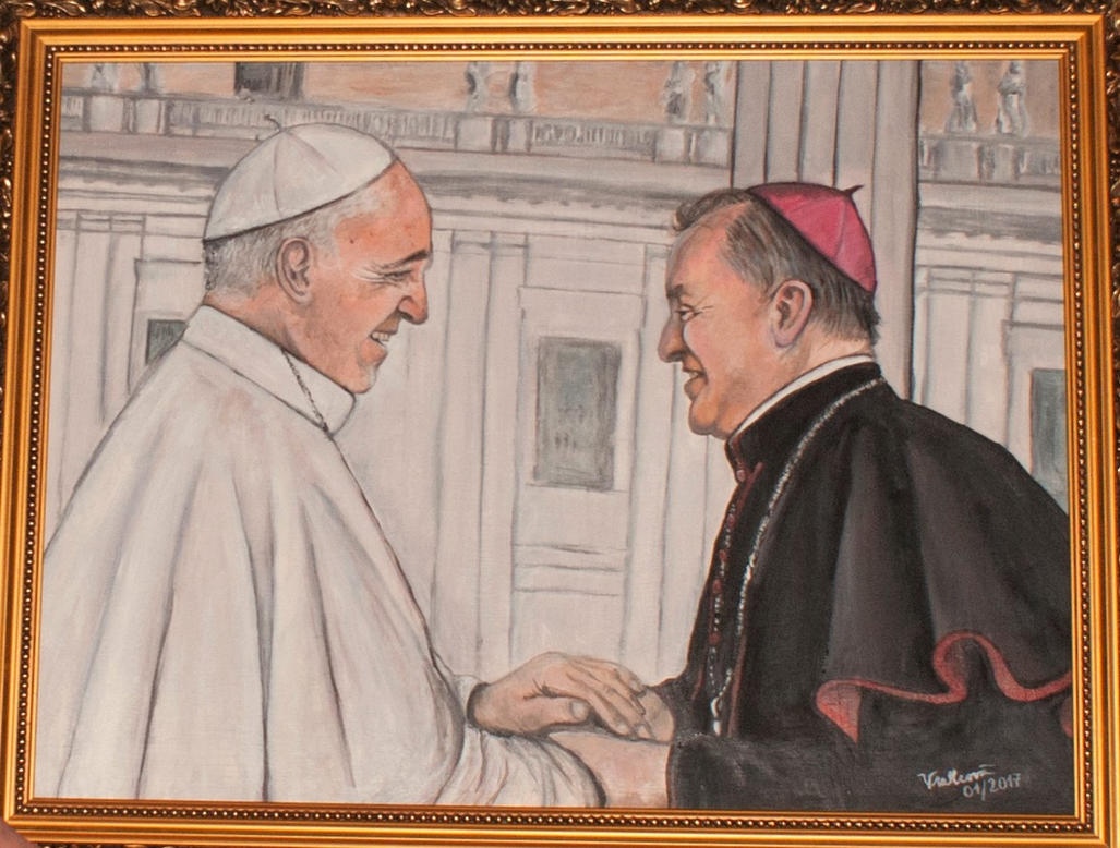 Pope Francis by Hellvetti