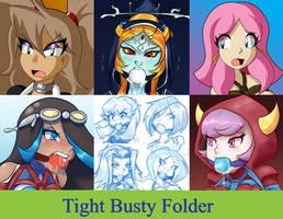 Tight Busty Folder