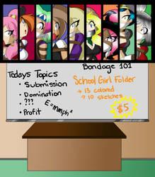 SchoolGirl Folder