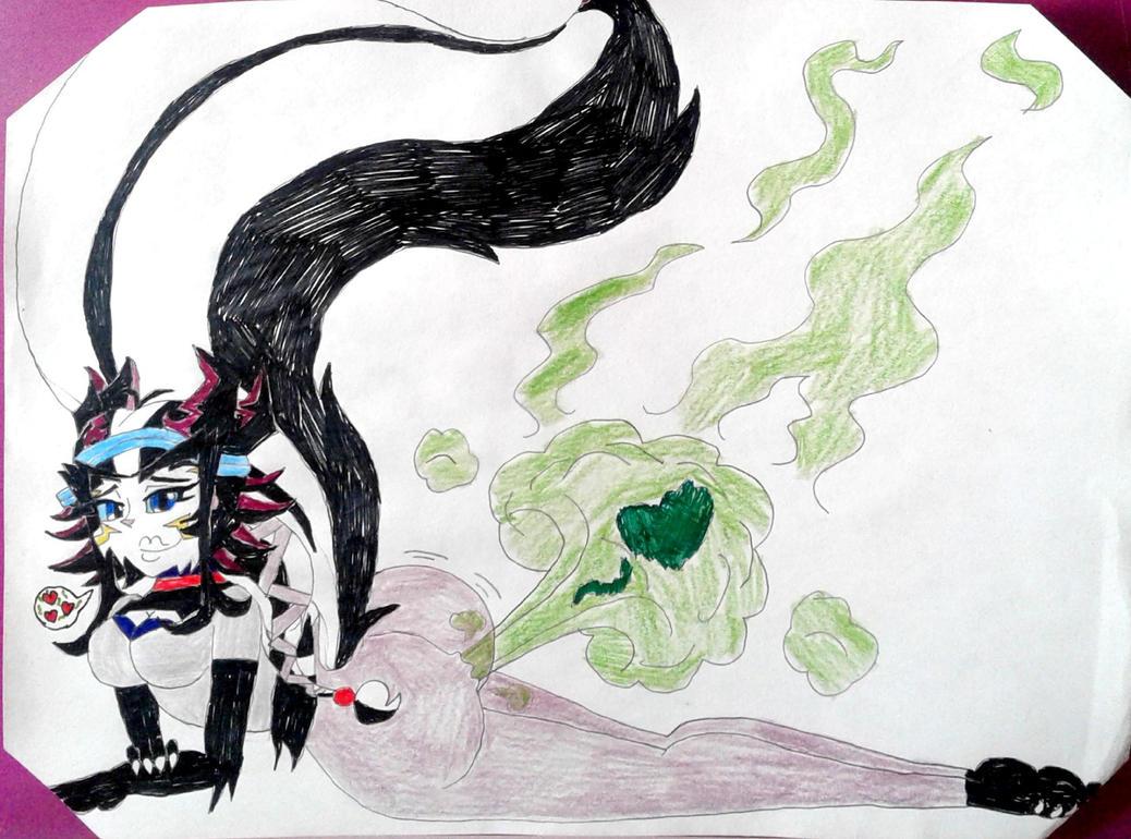 Passion Gas (Timeskip, Wereskunk) by BenorianHardback26