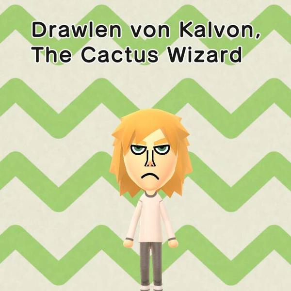 Drawlen von Kalvon (Mii version) by BenorianHardback26