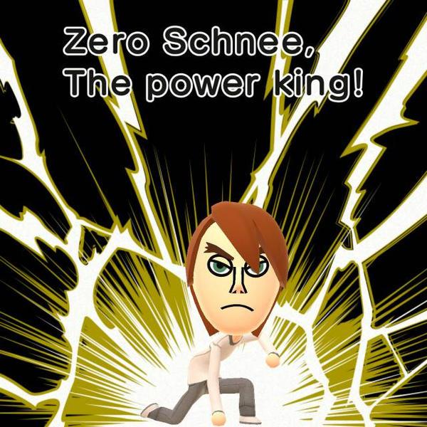 Zero Schnee (Mii version) by BenorianHardback26