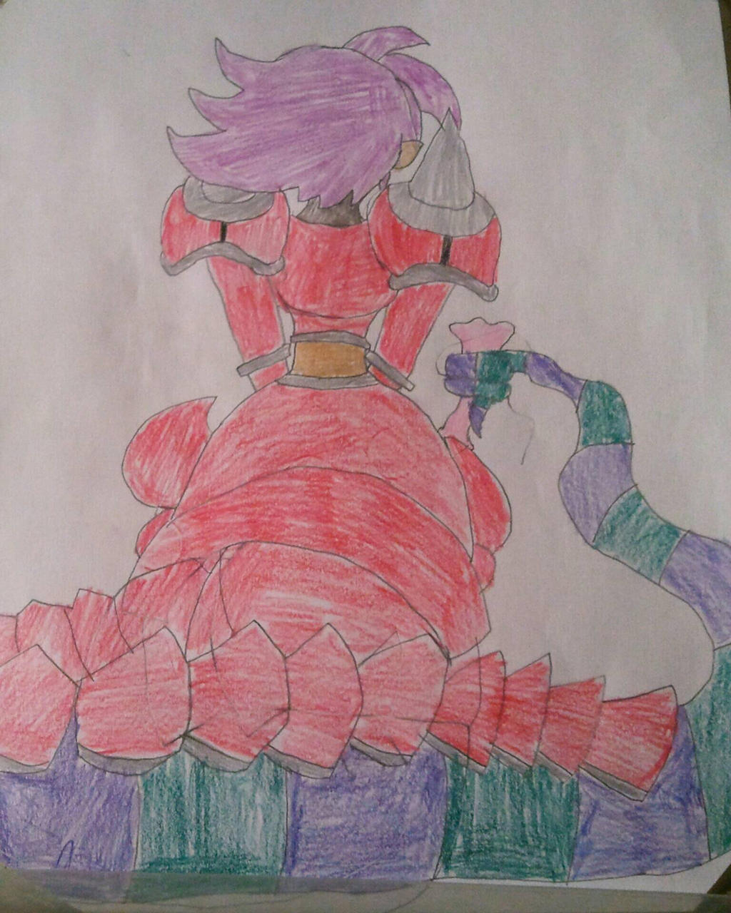 Naga (back version)  by BenorianHardback26