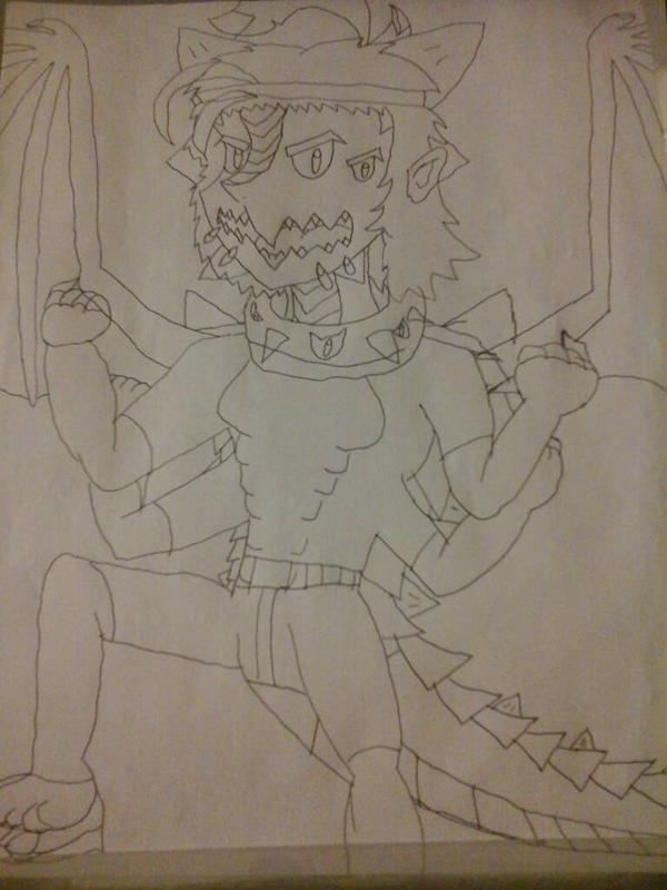 Benorian Hardback doodle  by BenorianHardback26