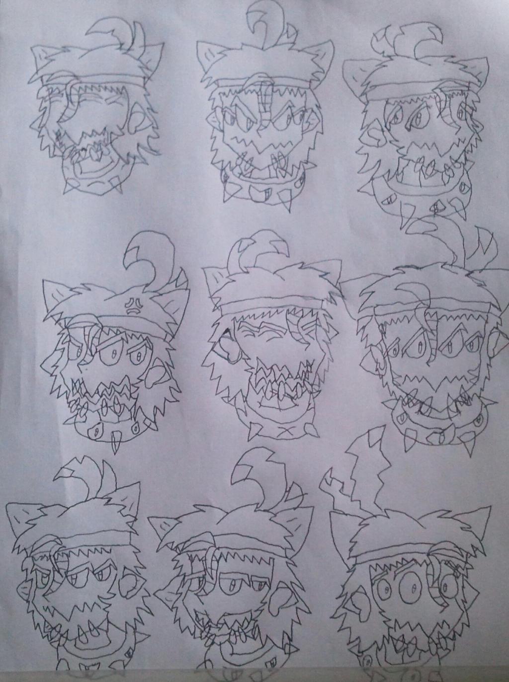 More Benorian doodles! by BenorianHardback26