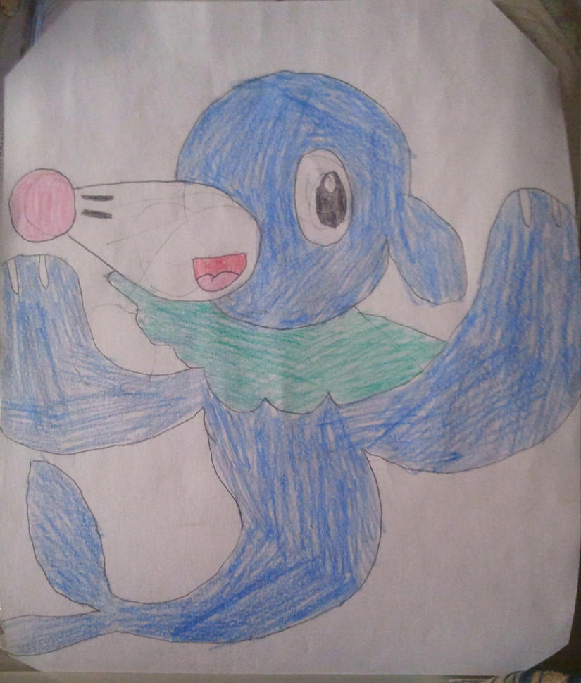 Popplio  by BenorianHardback26