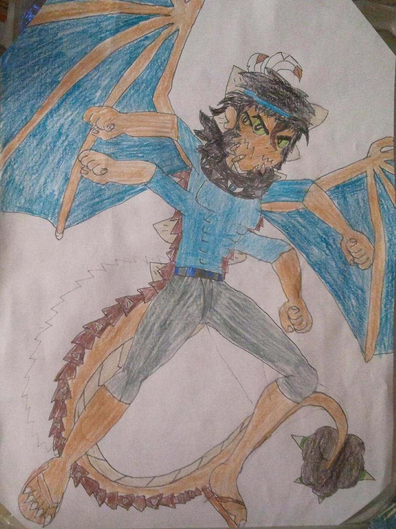 Benorian Hardback (Half-Genie Hero ver. 2) by BenorianHardback26