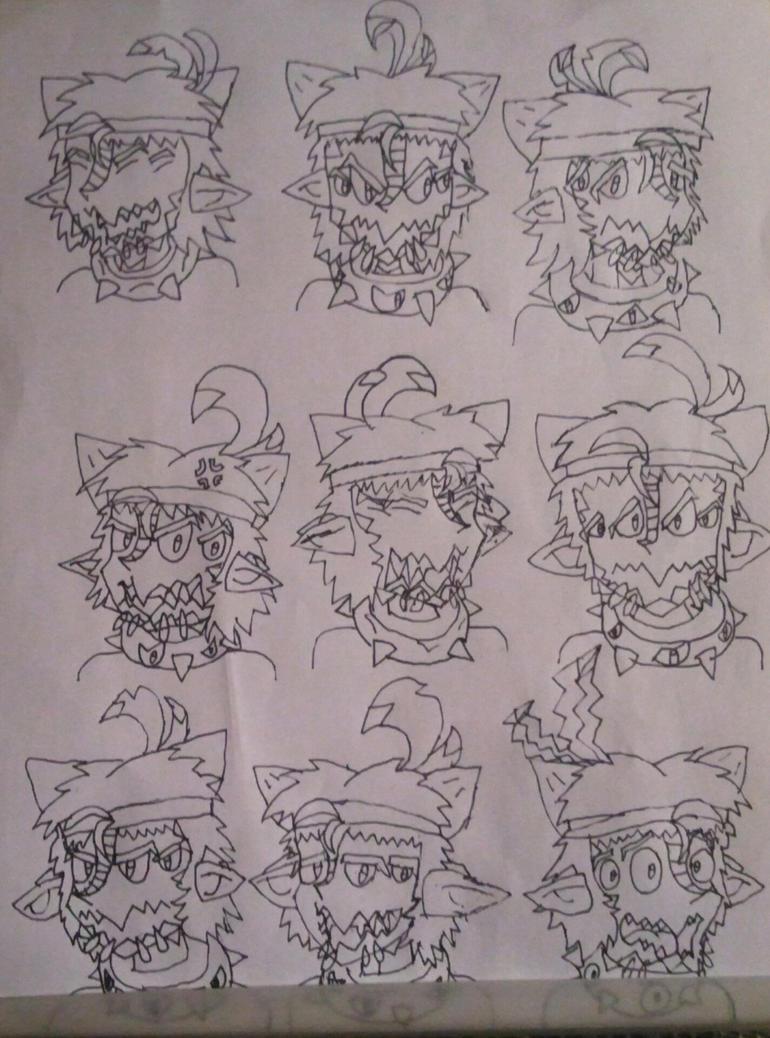 Benorian Hardback Doodles (Updated) by BenorianHardback26