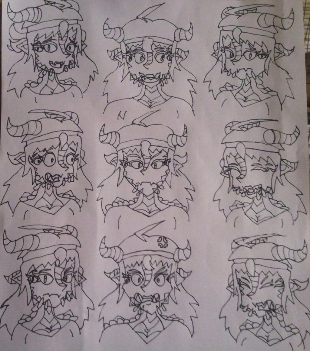 Railey Hardback doodles (First time) by BenorianHardback26