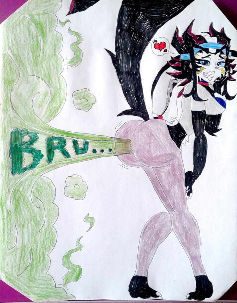 Aurora's Powerful Fart (Timeskip, Pajamas 2) by BenorianHardback26