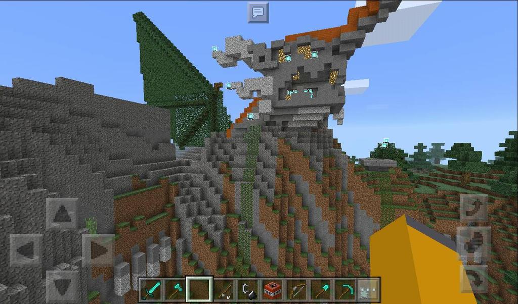 Inworld Overdragon statue by BenorianHardback26