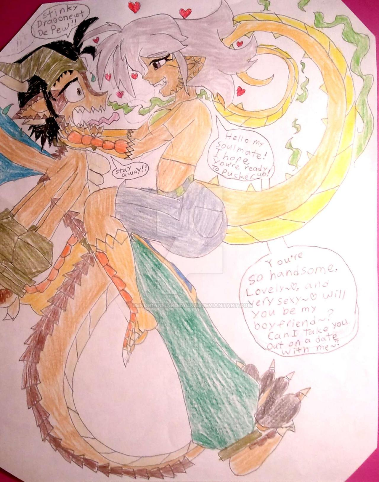 Stinky Dragonewt de pew! by BenorianHardback26