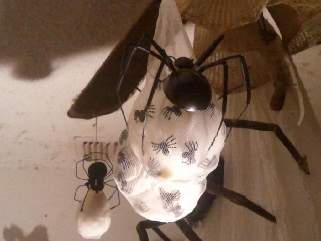 My second Handmade Spider Egg Sac by BenorianHardback26