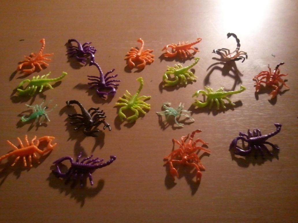 My Scorpion Collection by BenorianHardback26