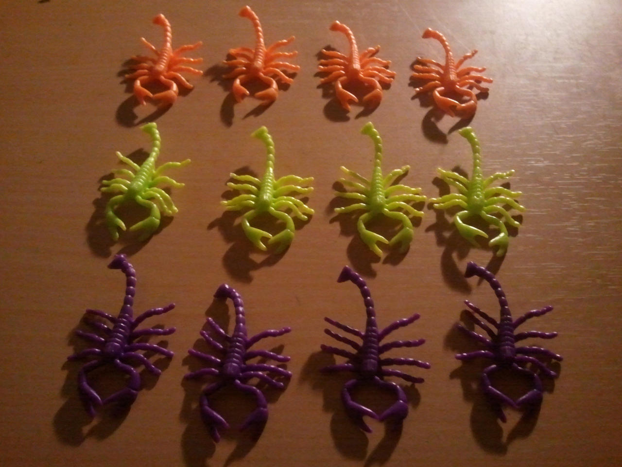 Neon Colored Scorpions by BenorianHardback26