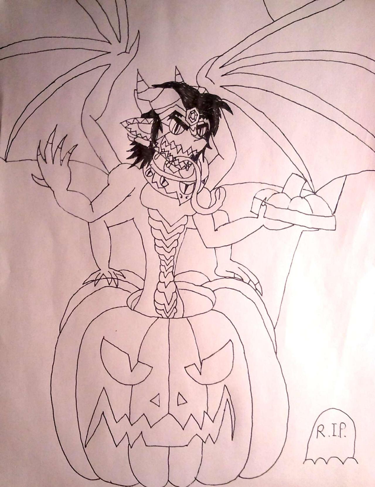 Inktober Halloween special! by BenorianHardback26
