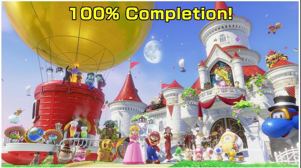 Super Mario Odyssey Bonus Image! by BenorianHardback26