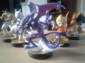 My Amiibo collection by BenorianHardback26