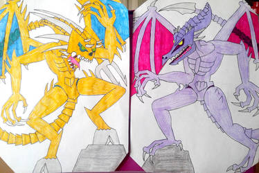 Two evil rivals by BenorianHardback26