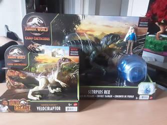 Jurassic World Dino Escape FFV and SRDP