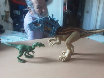 FF Masiakasaurus and MD Carcharodontosaurus