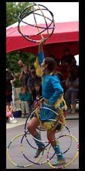 Hoop Dance - Dress and Sphere by Katterrena