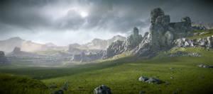 Cryengine 3 Forbidden Lands game environment