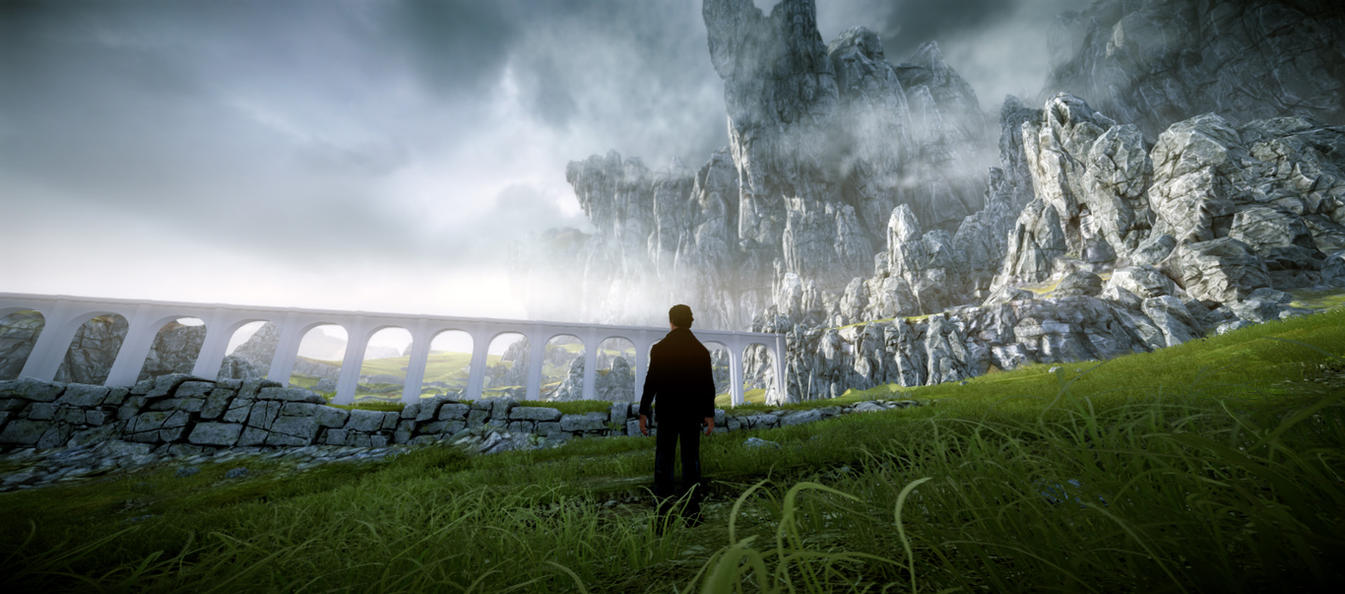 Cryengine 3 Forbidden Lands game environment 2 by Klass1987