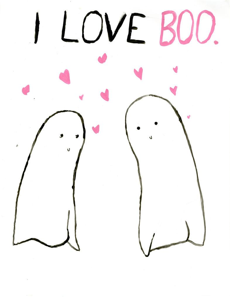I Love Boo by Jesswaveshello