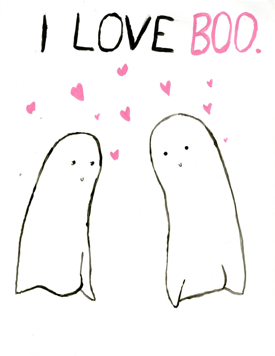 I Love Boo by Jesswaveshello