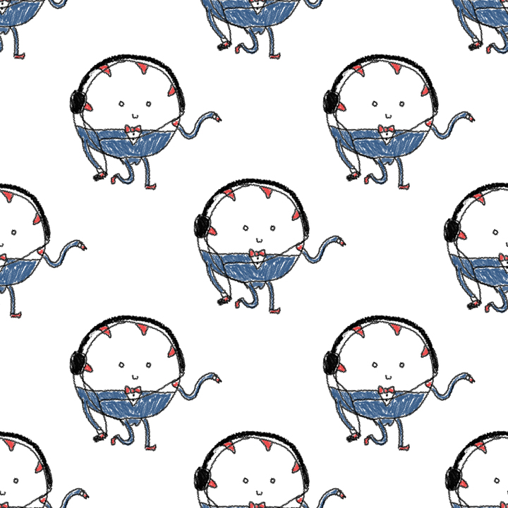 Peppermint Butler Tile Background by Jesswaveshello