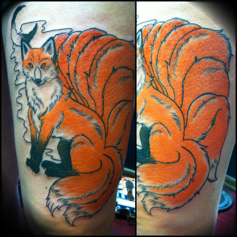 Nine Tailed Fox Tattoo Meaning Crazywidow Info