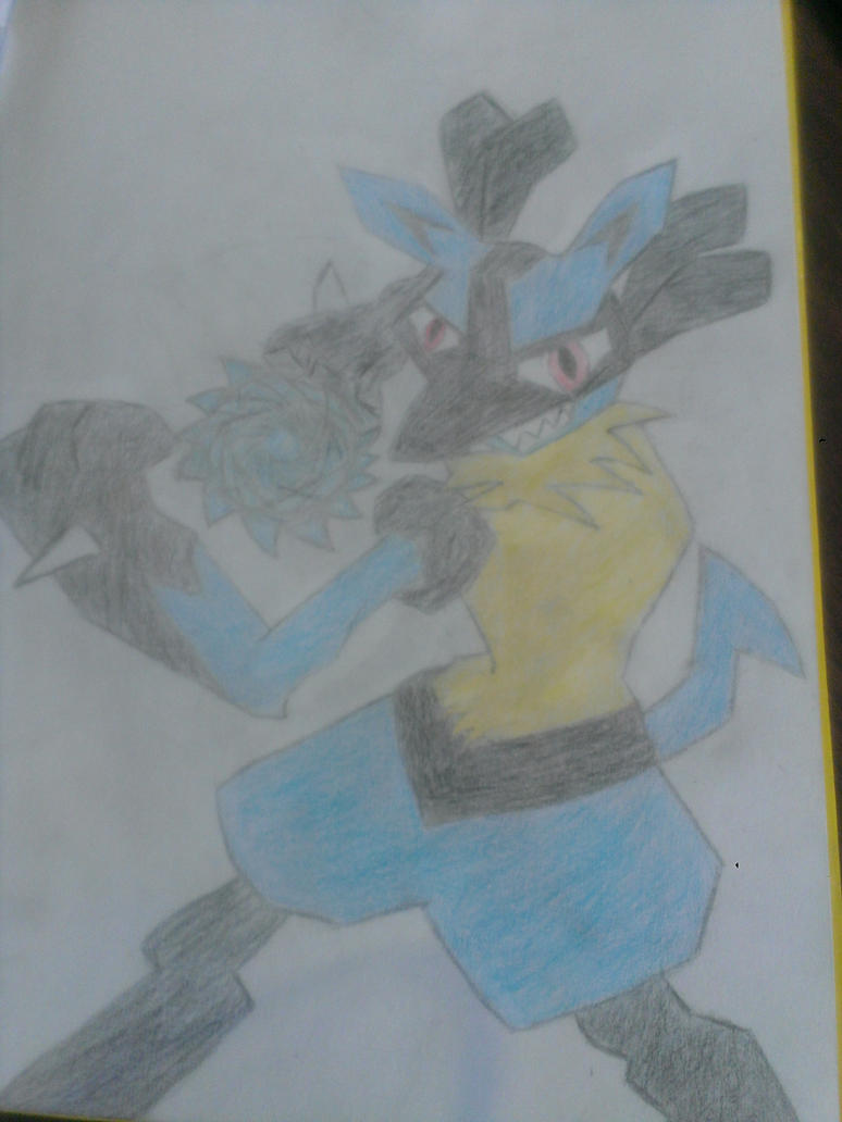 Lucario: Ace Style by HeroAce