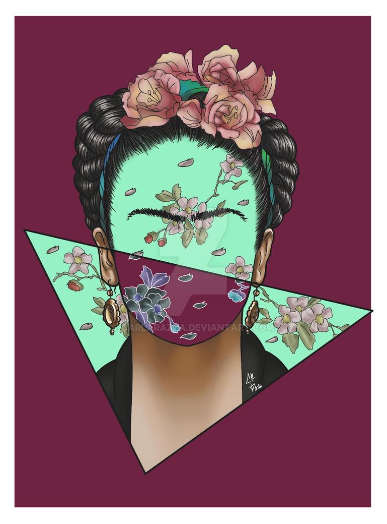 Frida Kahlo by CarlaRazza