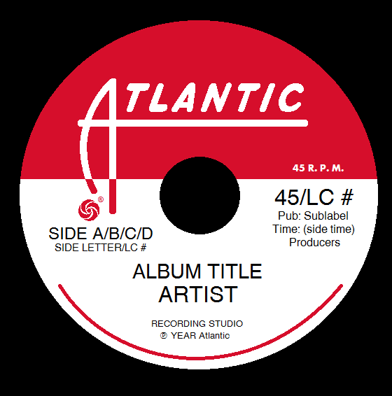 Atlantic Records Label Template #2 By TjsWorld2011 On