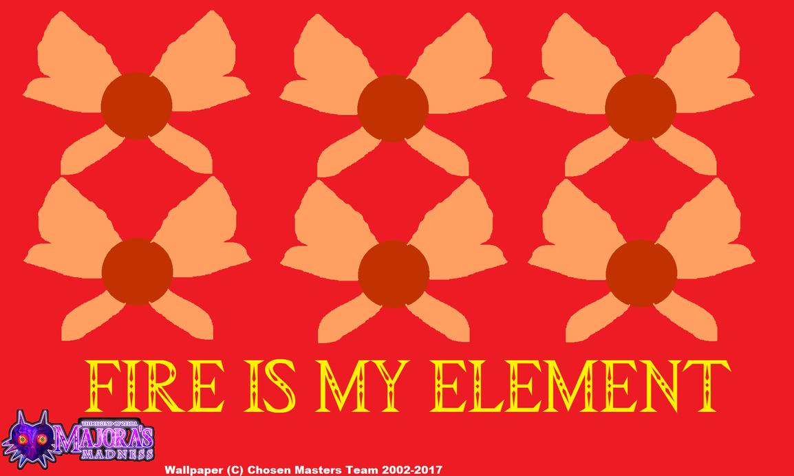 [MM] Majora's Madness Fire Fairy Wallpaper by ChosenMii