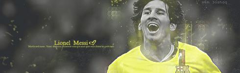 Messi Barcelona 4 by w6n3oshaq